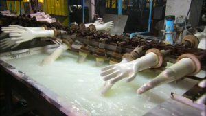 Производство латексных перчаток