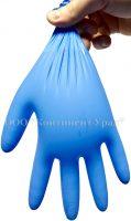 Проверка одноразовых перчаток на прочность