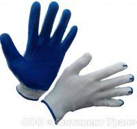 Перчатка нейлоновая с одинарным нитриловым обливом